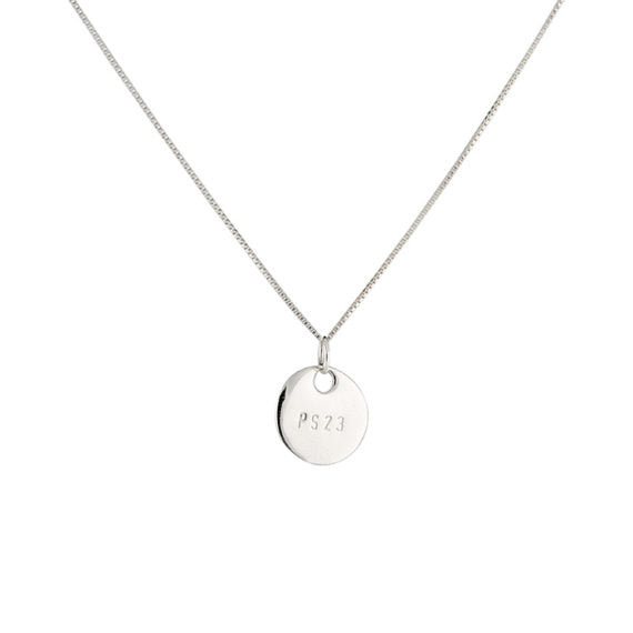 Silver Small Coin Necklace