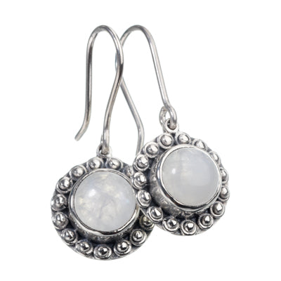 Princess Moonstone Earrings