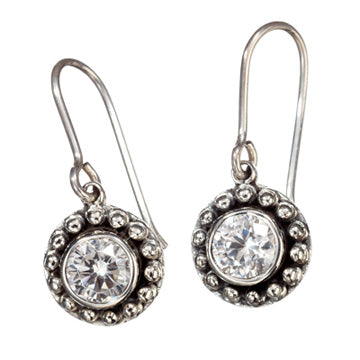 Sunflower Zircon Earrings