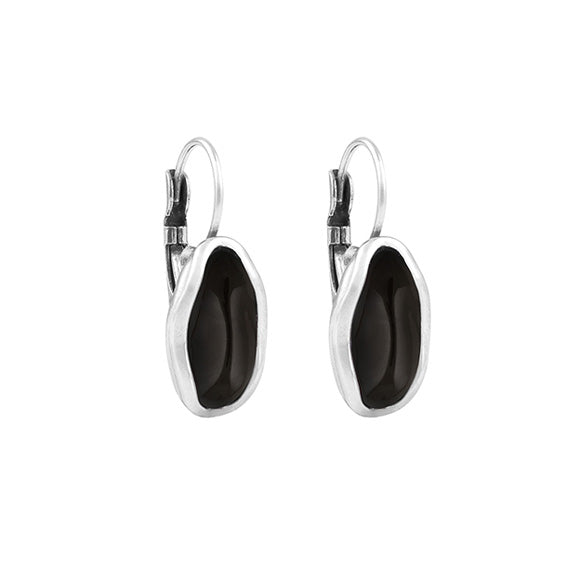 Vega Black Earrings