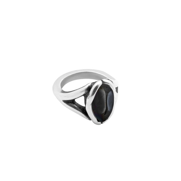 Vega Black Ring - Medium - Final Sale Item