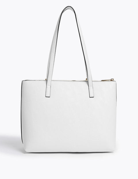 Buckle Detail Tote Bag