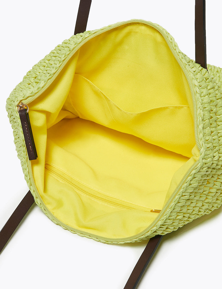 Straw Shopper Bag