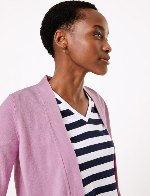 Cashmilon™  Edge to Edge Cardigan