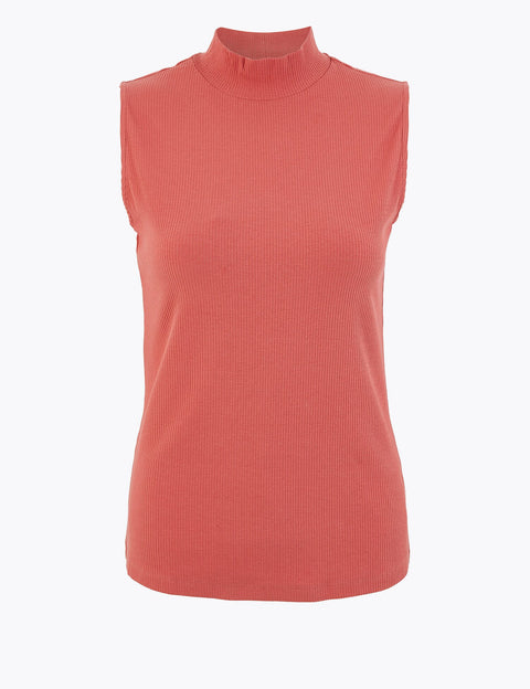 Cotton Rich Vest Top