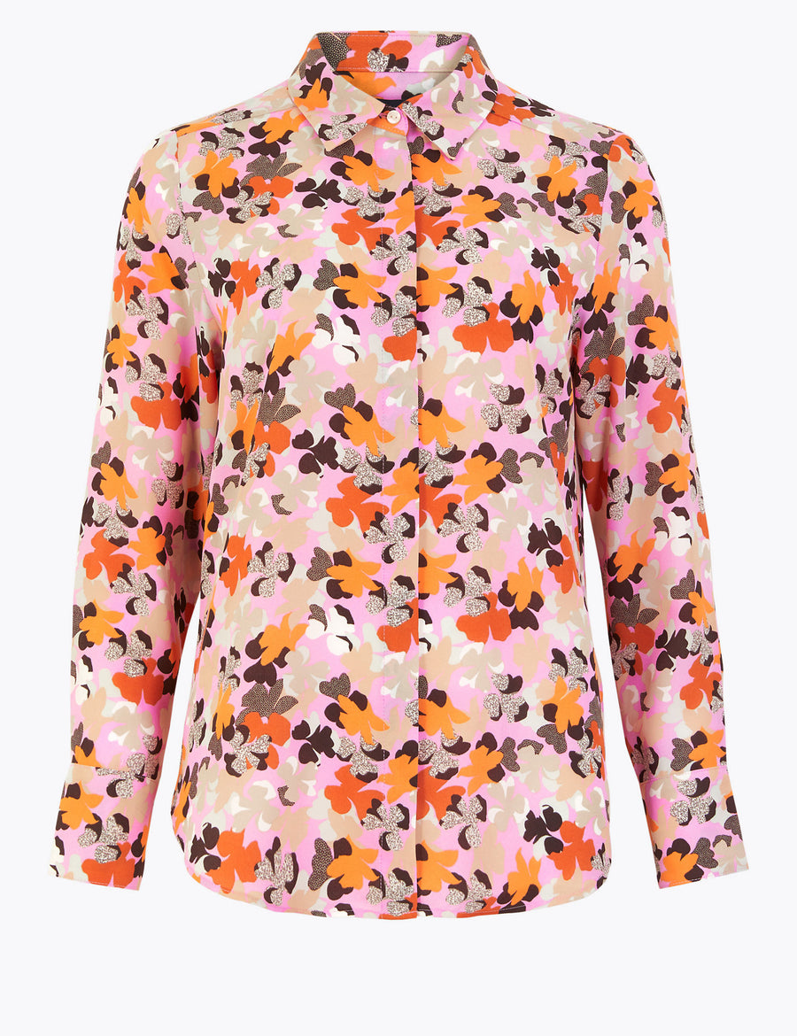 Floral Long Sleeve Shirt