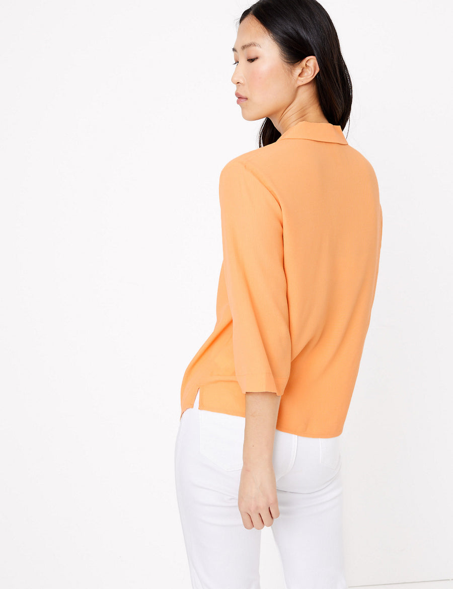 3/4 Sleeve Relaxed Shirt