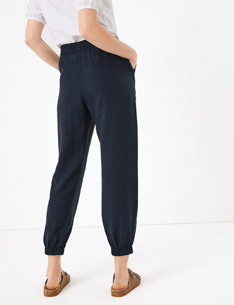 Tencel™ Utility Tapered Trousers