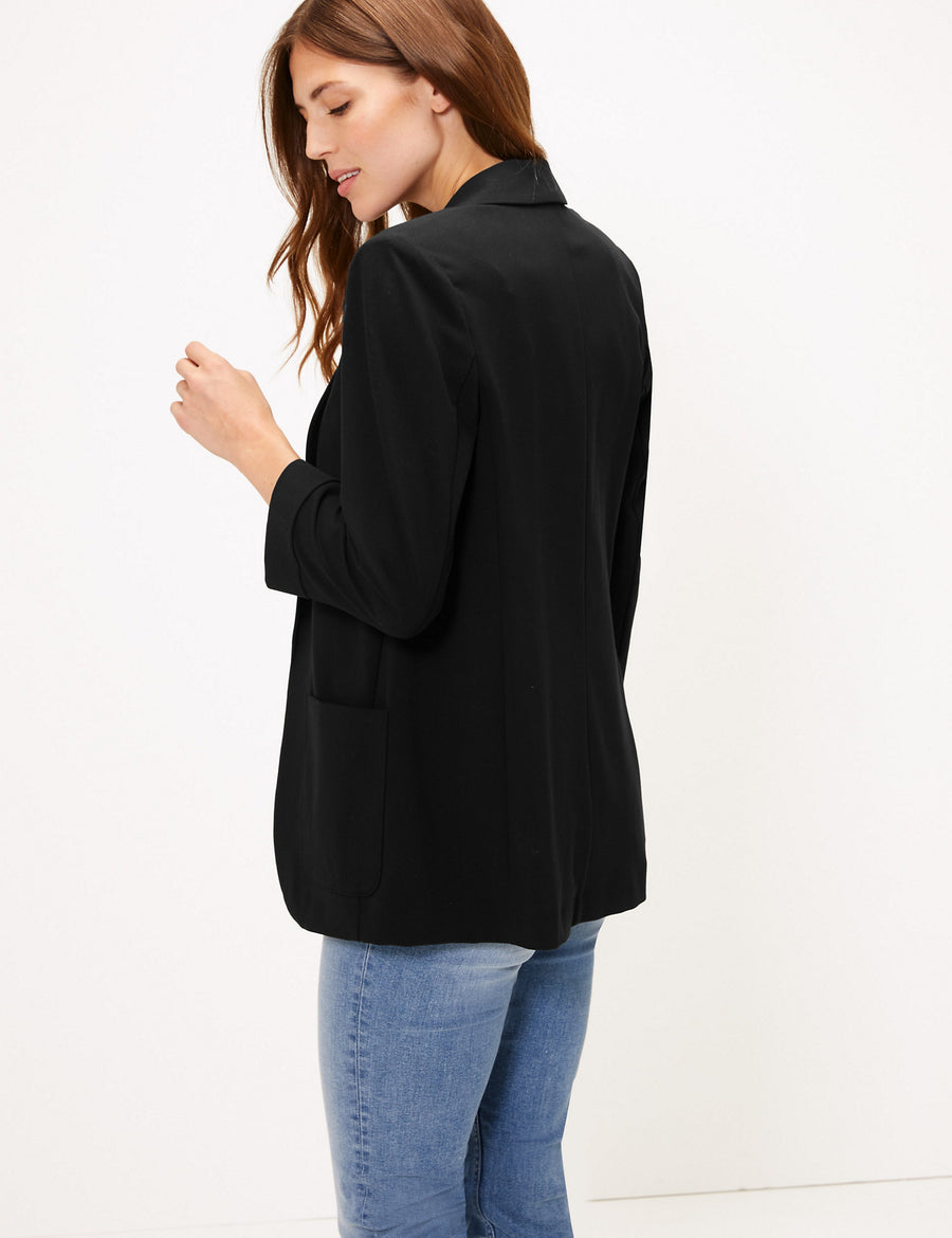 Tailored Patch Pocket Jacket