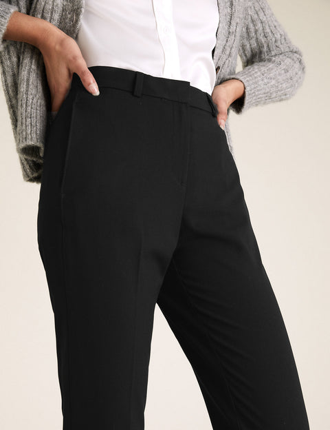 Slim Leg Ankle Grazer Trousers