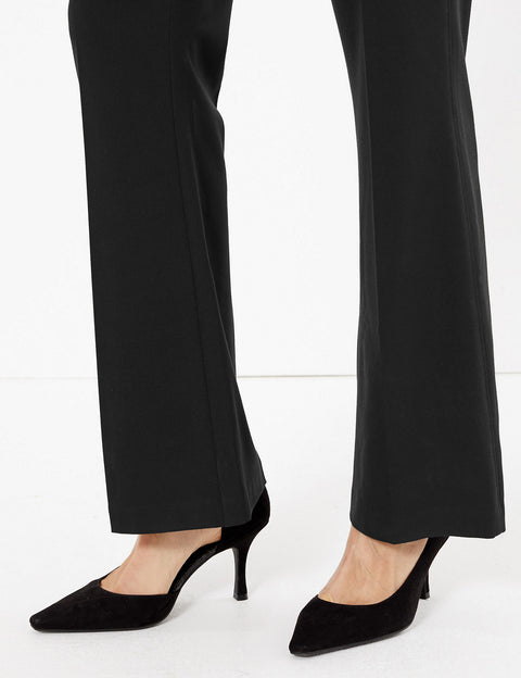 Slim Bootcut Trousers