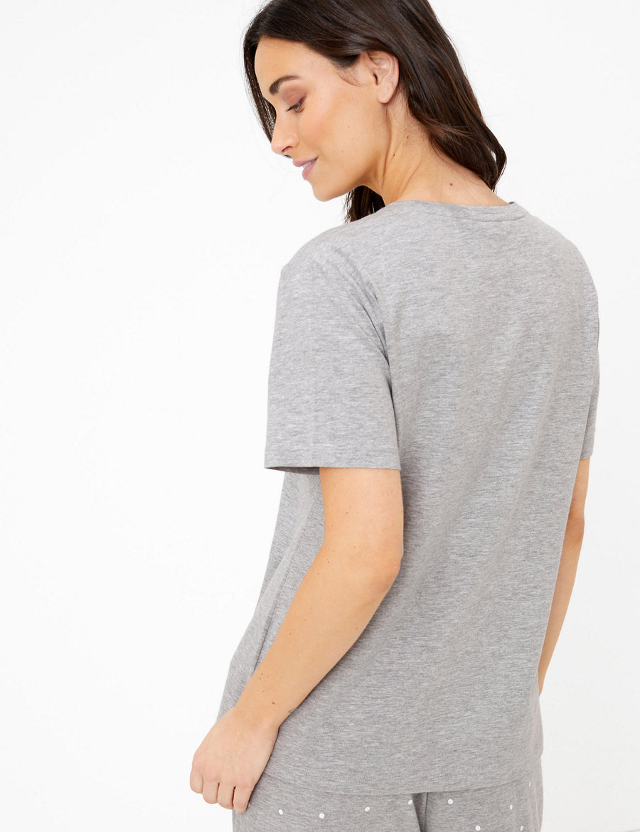 Cotton Sofa So Good Slogan Pyjama Top