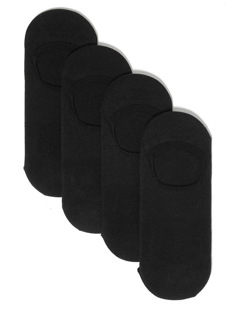 4 Pack Cotton Invisible Trainer Liners