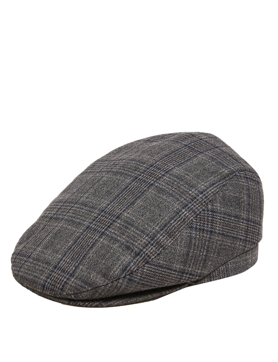Checked Flat Cap with Thermowarmth™