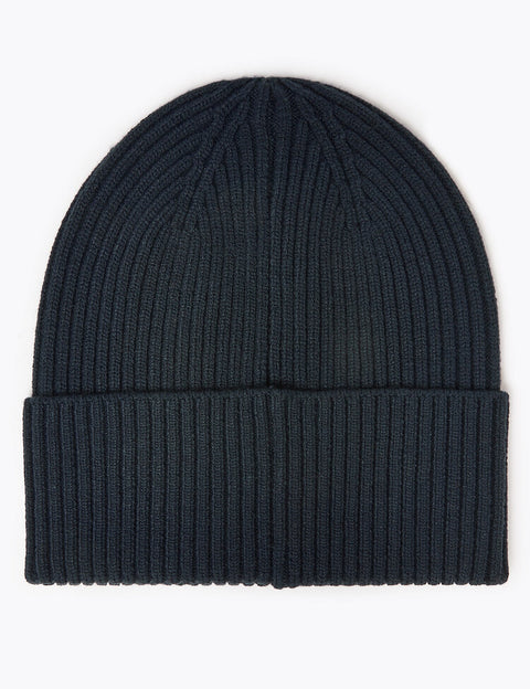 Ribbed Beanie Hat
