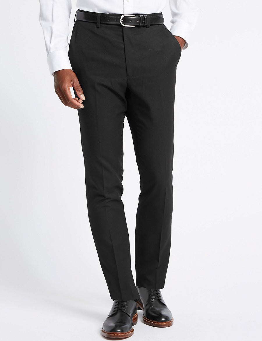Black Skinny Fit Trousers