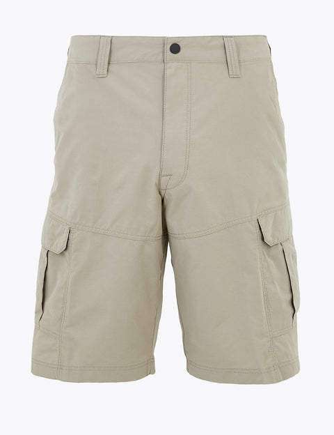 Regular Fit Cotton Rich Shorts with Stretch