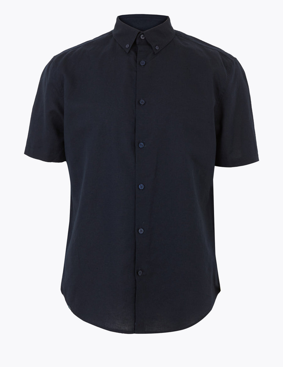 Easy Iron Linen Shirt