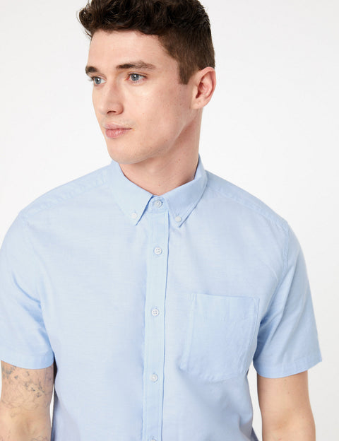 Pure Cotton Oxford Shirt