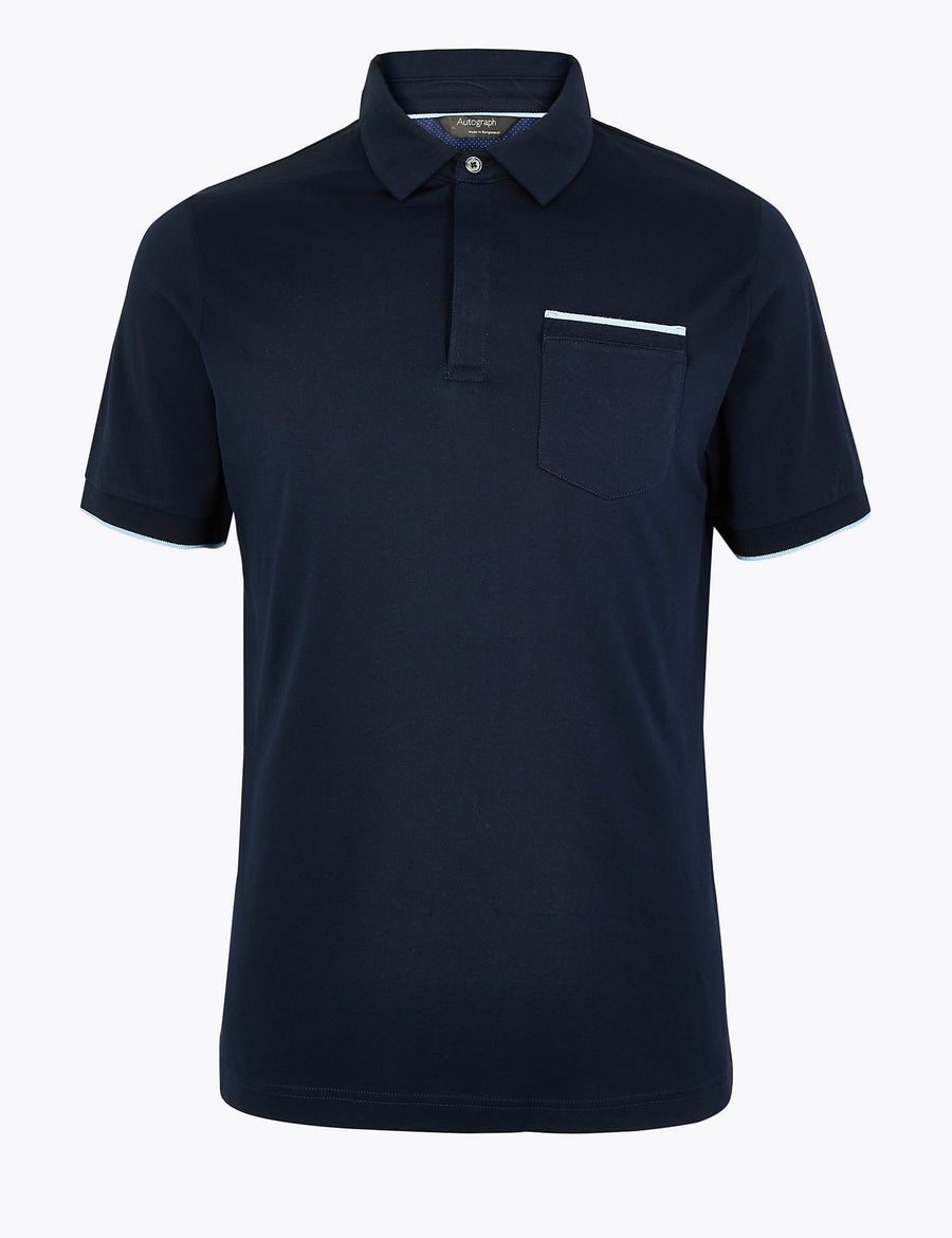 Premium Cotton Polo Shirt