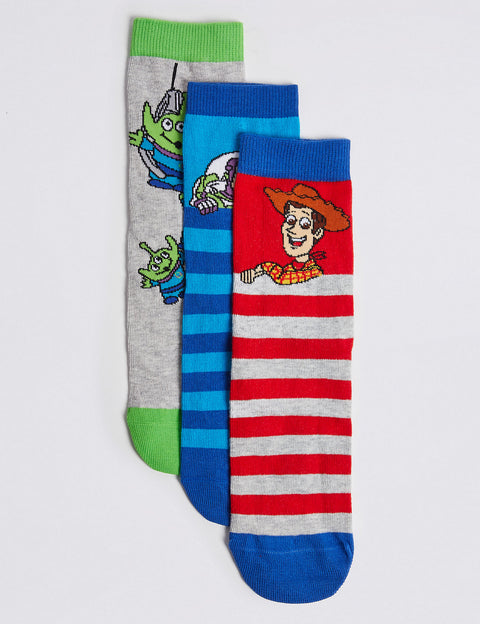 3 Pairs of Toy Story™ Socks