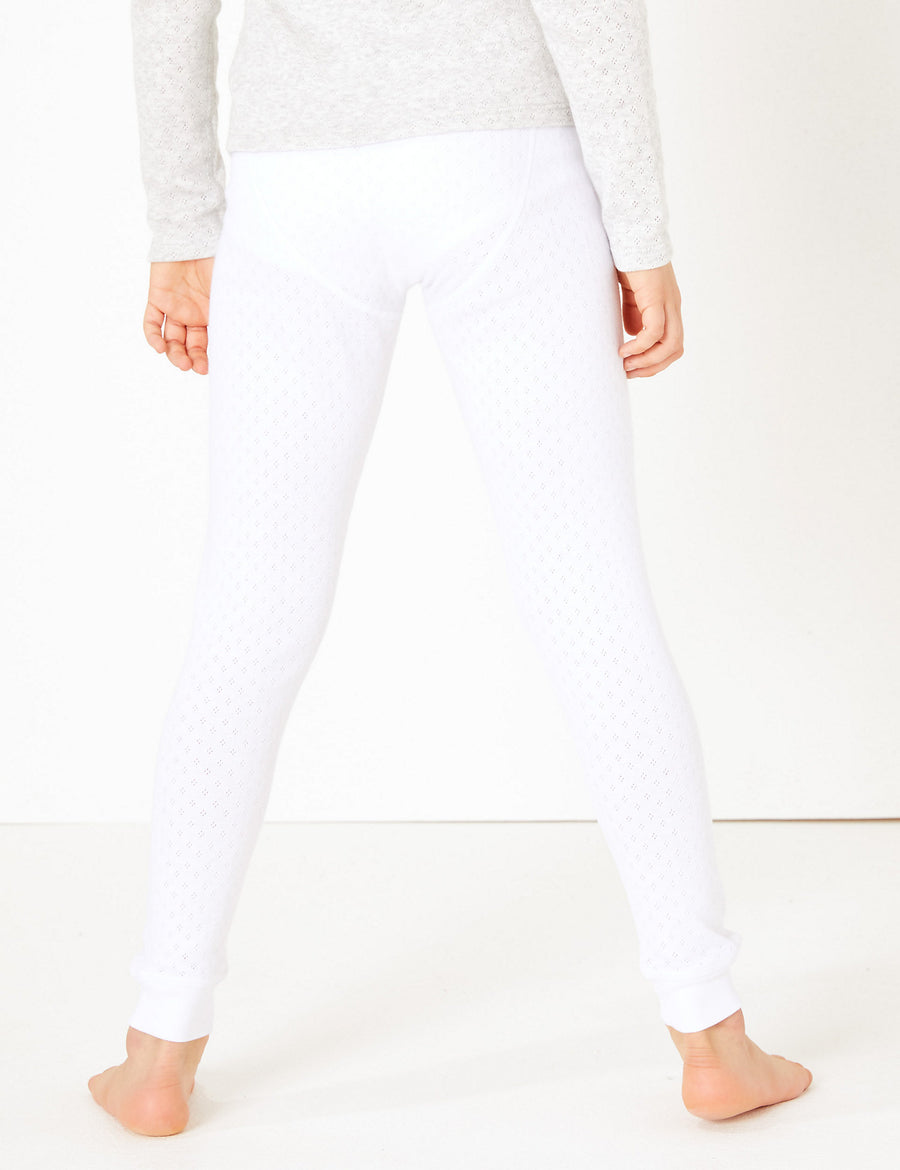 Thermal Cuffed Hem Leggings