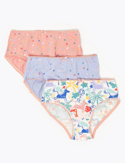 7 Pack Unicorn Knickers