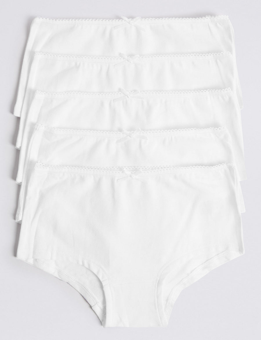 5 Pack Cotton with Stretch Shorts