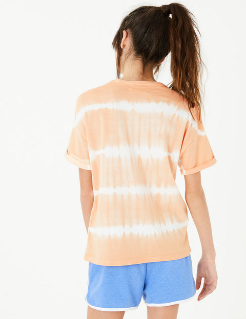 Pure Cotton Tie Dye T-Shirt