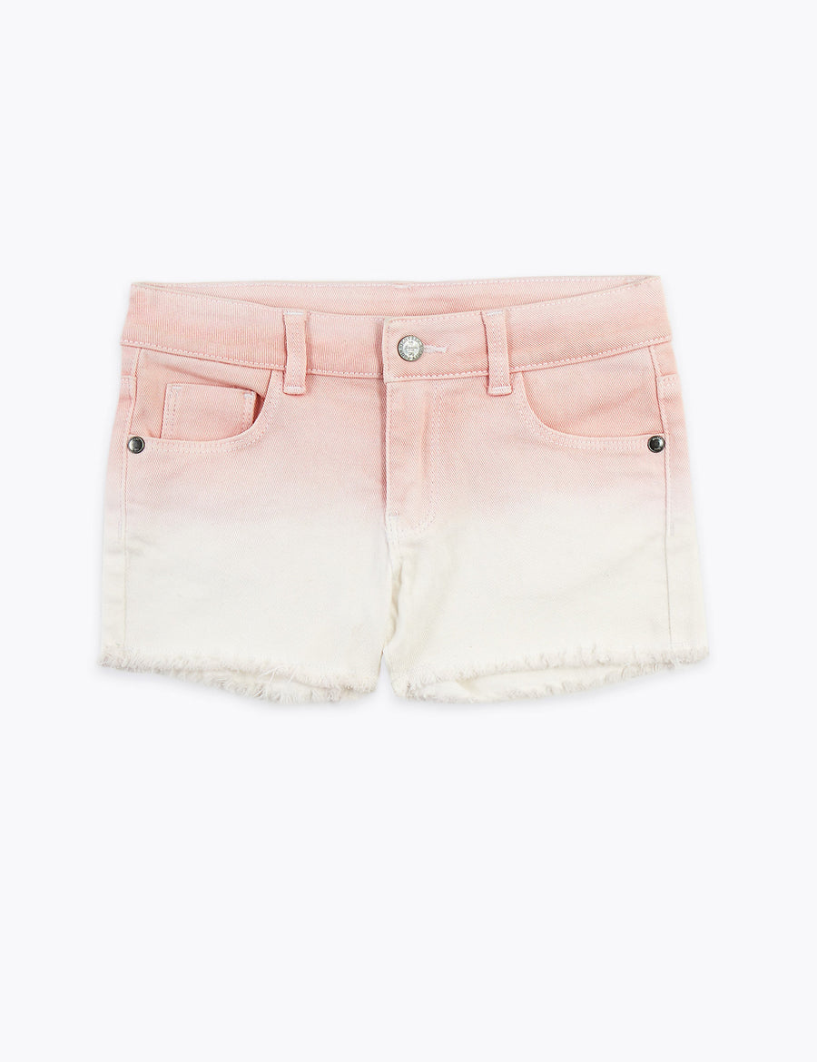 Denim Ombre Shorts