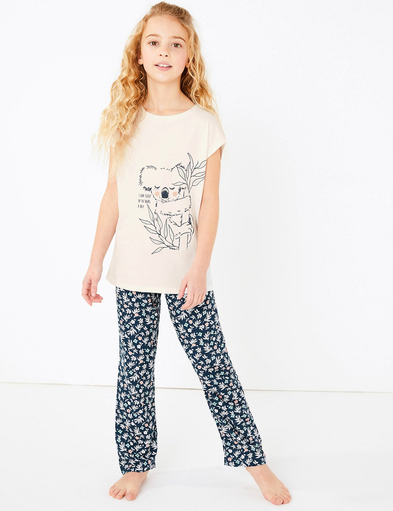2 Pack Animal Print Pyjama Sets