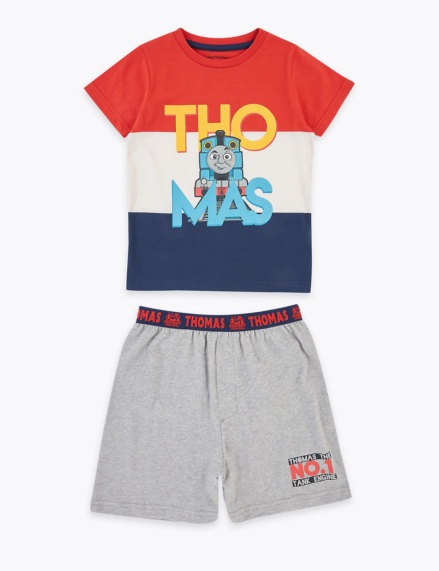 Pure Cotton Thomas & Friends Short Pyjama Set