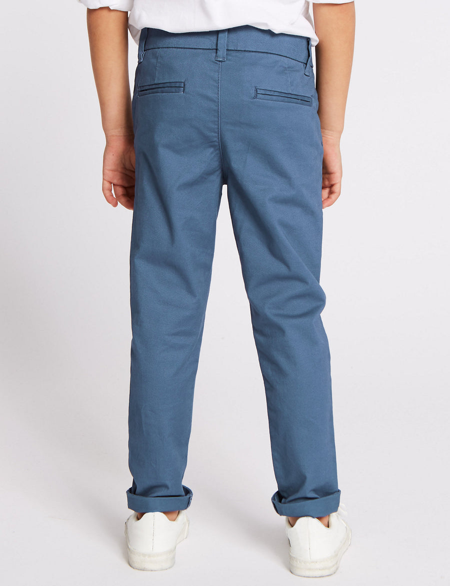 Cotton Chinos with Stretch