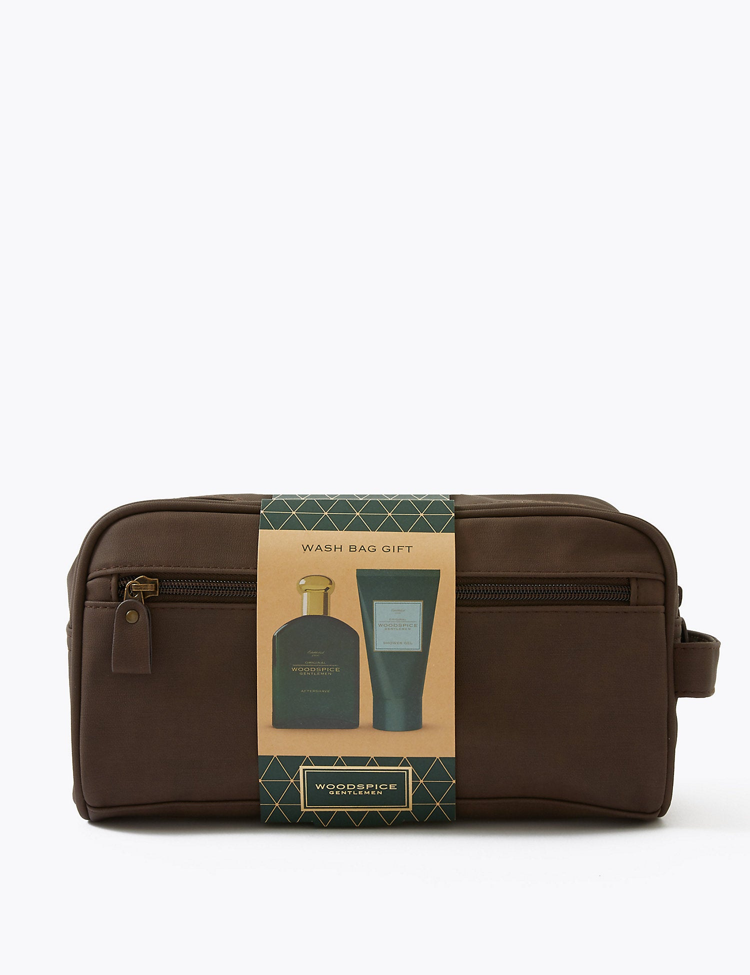 Woodspice Washbag Set