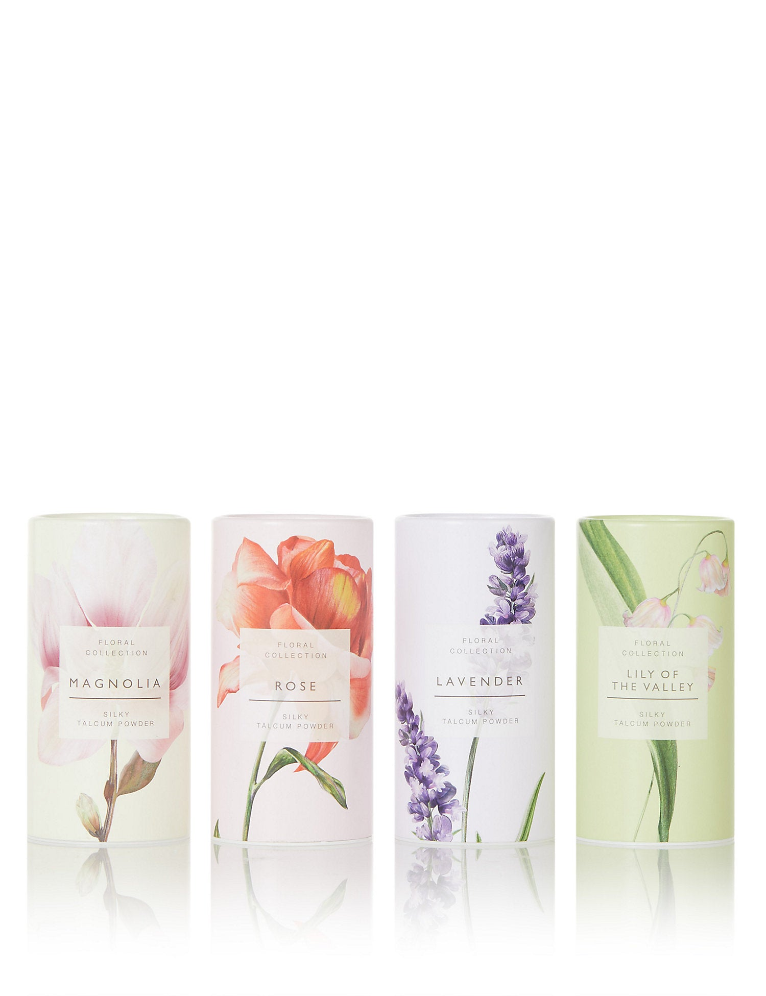 Mixed Floral Scents Talcum Powder Gift Set