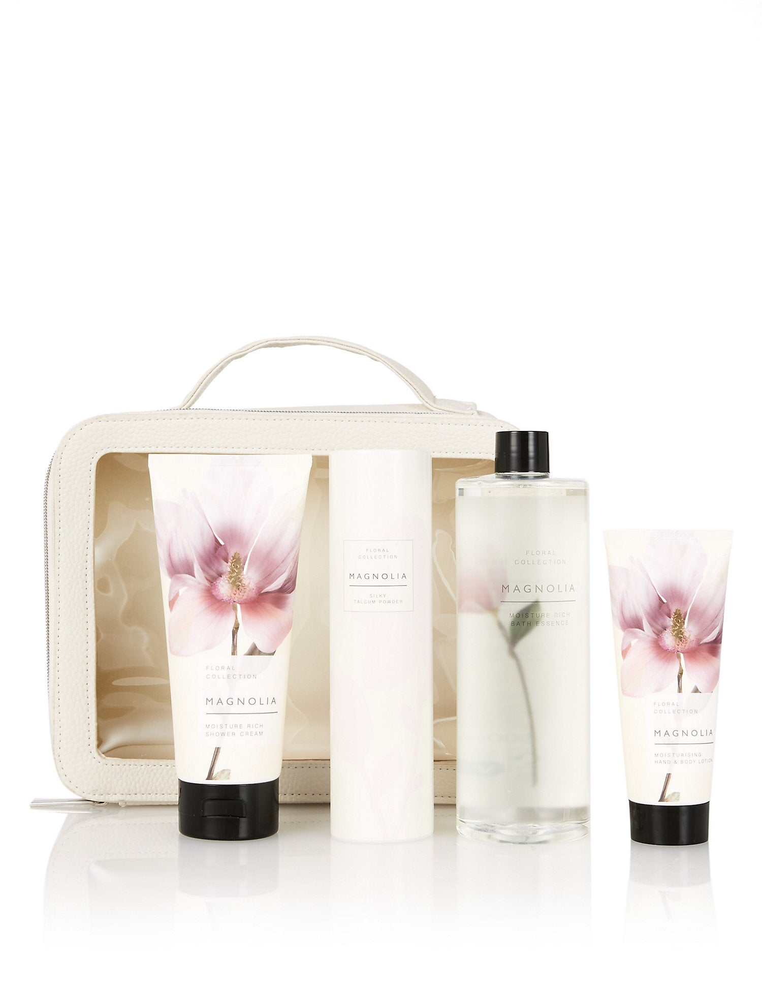Magnolia Toiletry Bag Gift Set