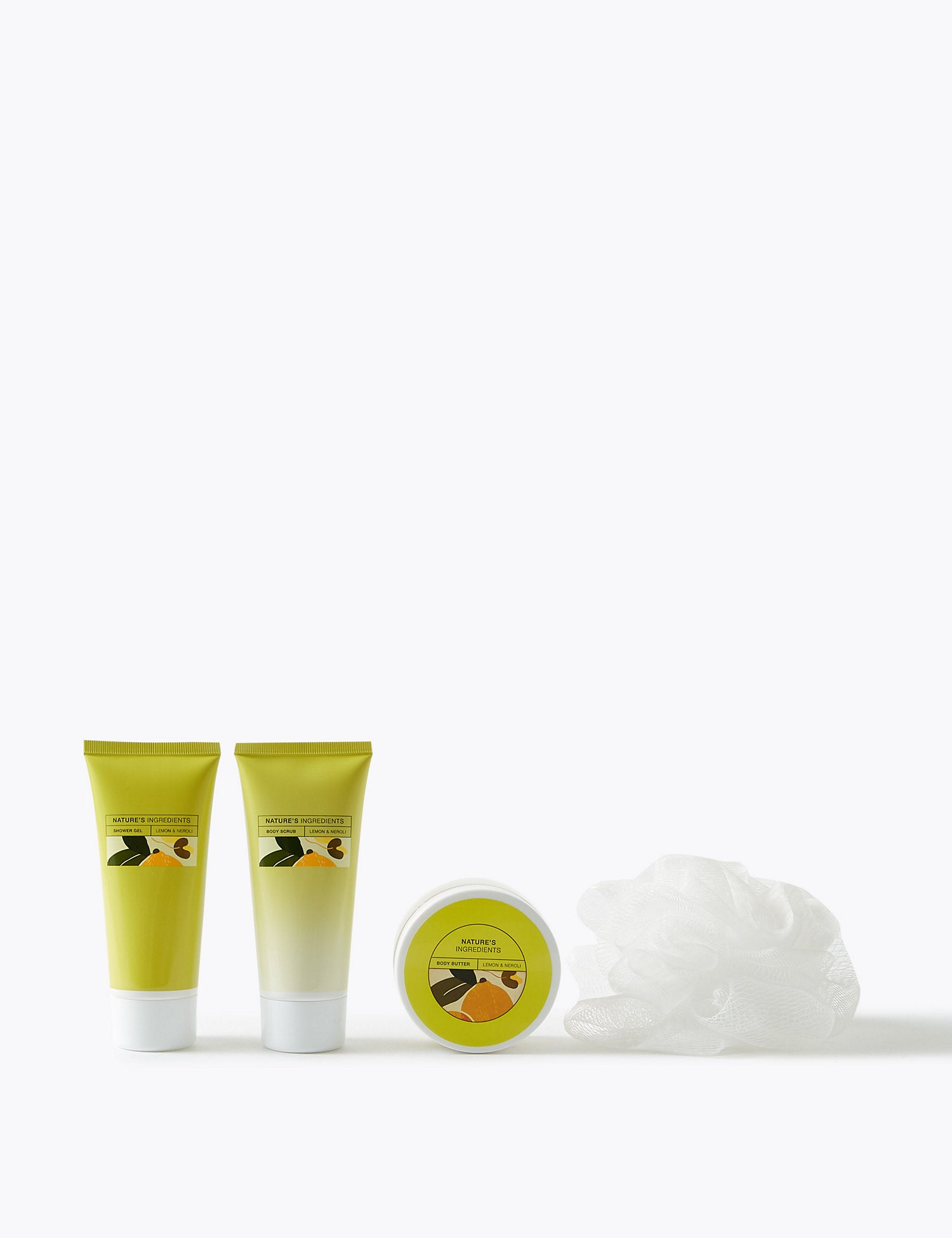 Lemon & Neroli Body Care Set