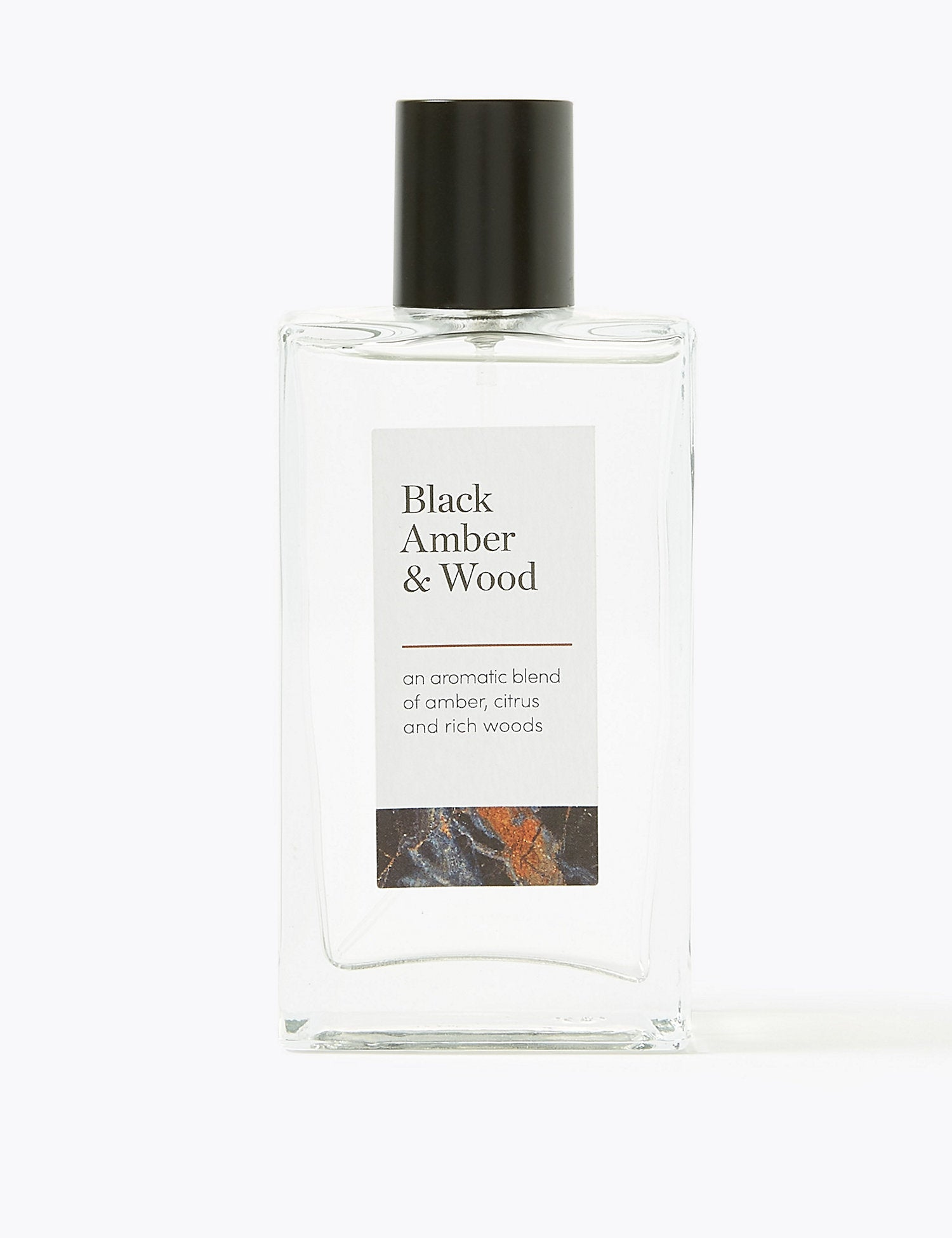 Black Amber & Wood Eau de Toilette 100ml