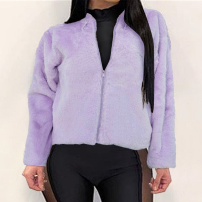 Bella Purple Zip Up