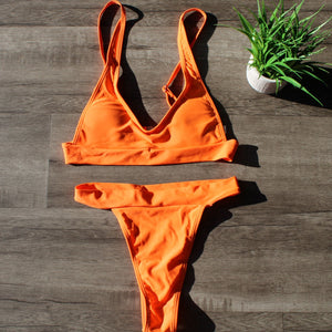Sunset Push Up Bikini