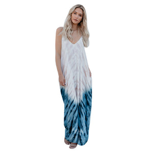 Long Boho Dress Beach Summer