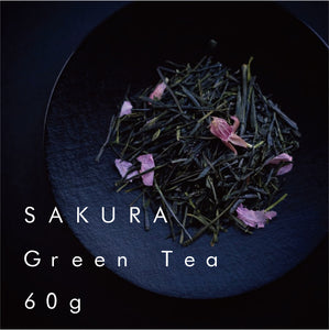 さくら茶 (缶) |  Sakura Green Tea (Can)