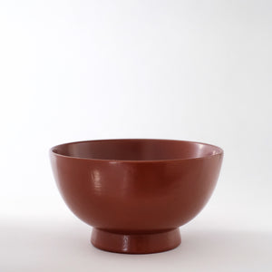 赤木明登  汁椀 小 (赤)  Akito Akagi  Soup Bowl  S-size ( Red )