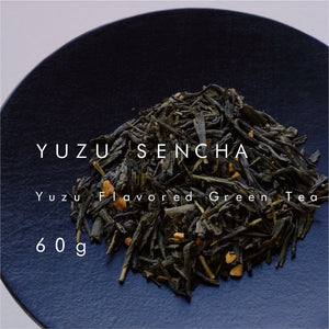 緑茶 ゆず煎茶 (缶) |  Yuzu Flavored Green Tea (Can )