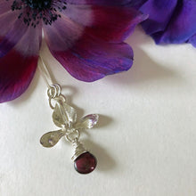 Flower Blossom Drop Pendant