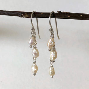 Freshwater Pearl Cascading Dangles