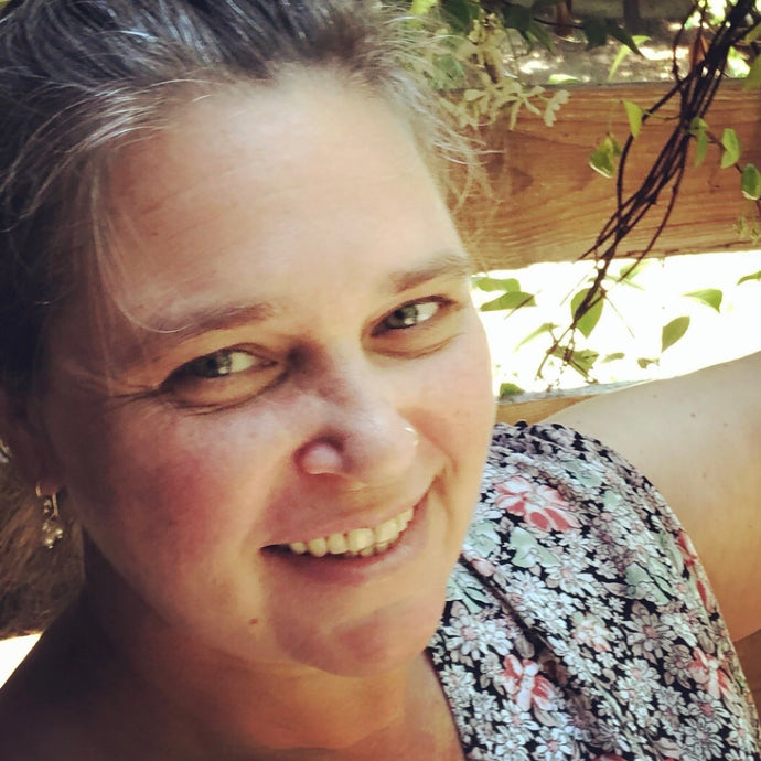 Lucky Red Seed Earrings