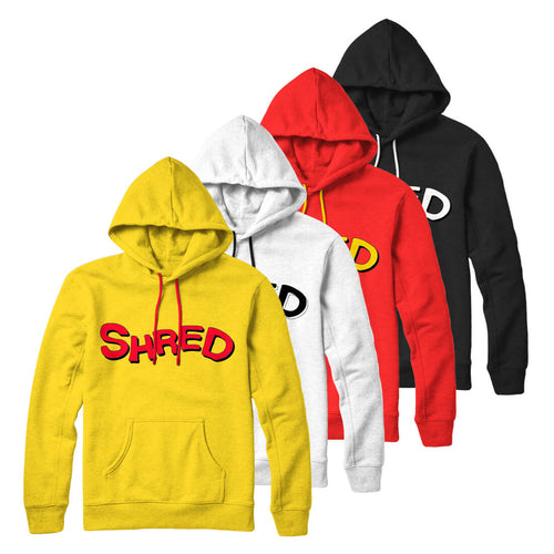 Shred Pullover Hoodie (4 Colors)