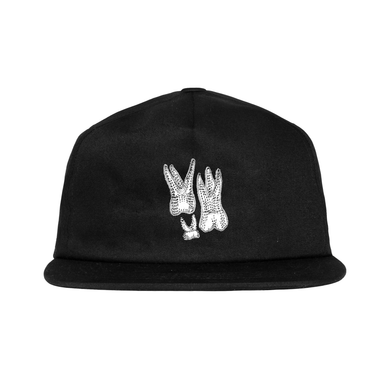 Teeth Snapback Hat