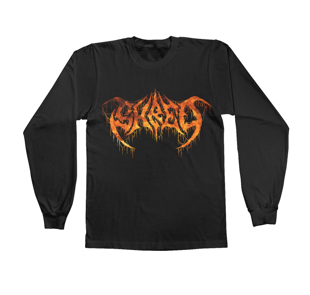 DEATH SHRED BLACK LONGSLEEVE